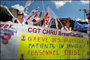 Manifestation nationale des urgences - hôpitaux
