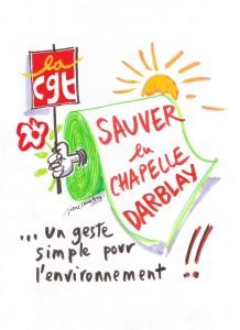 Dessin affiche chapelle darblay 001